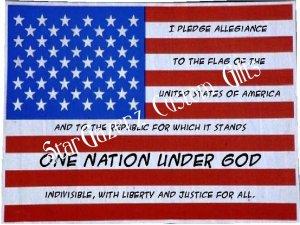 T-Shirt - Unisex - Patriotic - Pledge of Alligience