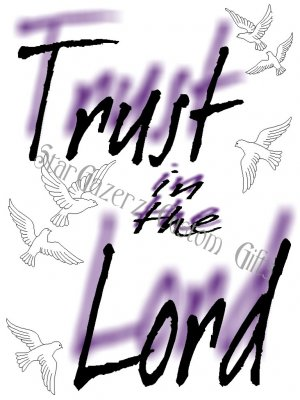 T-Shirt - Unisex - Religious - Trust In The Lord