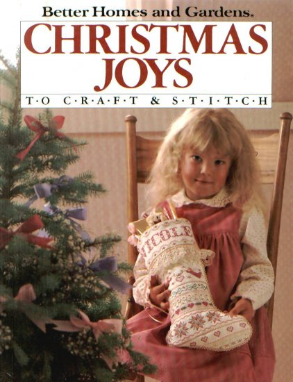 Christmas Joys To Craft-Crochet Pattern Patterns New