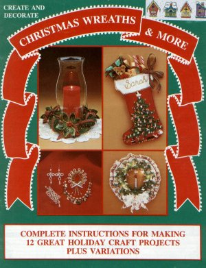 Christmas Wreaths Bows Candles Jewelry Pattern Patterns