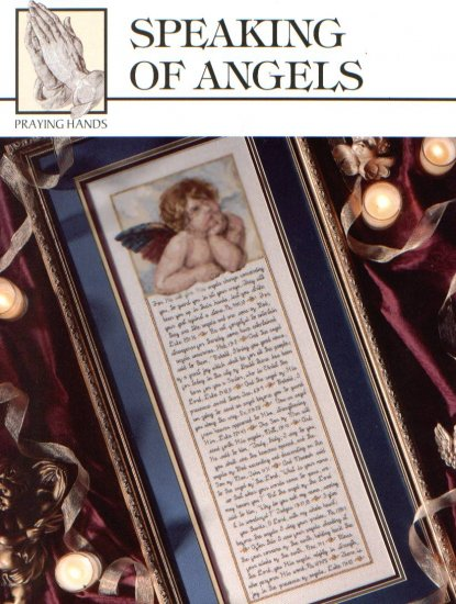 Speaking of Angels New Cross Stitch Pattern