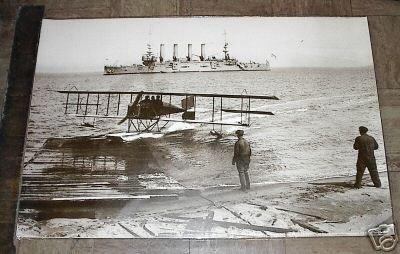 1915 LOCKHEED AIRPLANE  San Francisco POSTER NUT TREE VACAVILLE free shipping