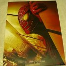 2001 SPIDERMAN SPIDER-MAN TWIN TOWERS POSTER FRENCH IMPORT EDITION