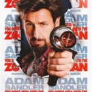 YOU DON'T MESS WITH THE ZOHAN MOVIE POSTER 27x40