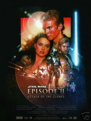 Star Wars Attack of the Clones Poster 22 x 34 inches