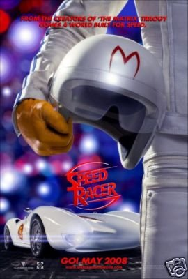 SPEED RACER ADVANCE MOVIE POSTER 27 x 40