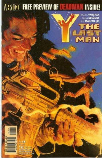 Y: The Last Man # 48  -  Gehenna
