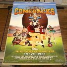 COMEBACKS MOVIE POSTER 27x40