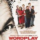 WORDPLAY MOVIE POSTER (2006) Will Shortz