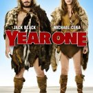 YEAR ONE ADVANCE MOVIE POSTER 27x40 Jack Black Michael Cera