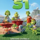 PLANET 51 MOVIE POSTER FREE SHIPPING 11x17