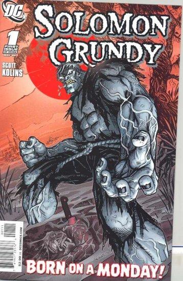 SOLOMON GRUNDY #1 (OF 7) near mint comic (2009)