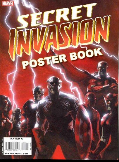SECRET INVASION POSTER BOOK BRAND NEW CONDITION
