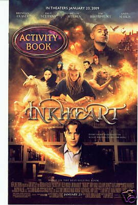 INKHEART MOVIE PROMOTIONAL ACTIVITY BOOK x2