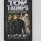 G.I. JOE: RISE OF THE COBRA TOP TRUMPS CARD GAME CCG