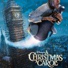 A CHRISTMAS CAROL MOVIE POSTER (2009) JIM CAREY D/S