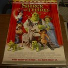 SHREK THE THIRD MOVIE POSTER 27x40 (2007)