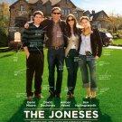 THE JONESES MOVIE POSTER 27 x 40 D/S (2010)