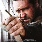 Robin Hood Advance Promotional Mini Movie poster (2010) Russell Crowe Cate Blanchett Free shipping