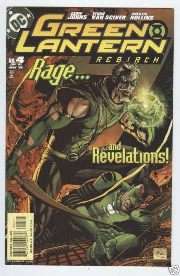GREEN LANTERN REBIRTH #4 (OF 6) near mint comic (2005)