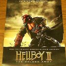HELLBOY II 2 POSTER THE GOLDEN ARMY FREE SHIPPING