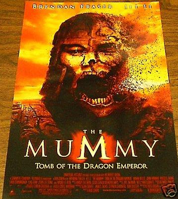 THE MUMMY MOVIE POSTER JET LI 2008