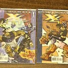 ULTIMATE X4 XMEN FANTASTIC FOUR LOT RUN SET 1 & 2