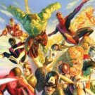 SECRET WARS art by ALEX ROSS POSTER 24 x 36 inches.