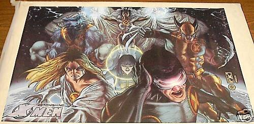 ASTONISHING X-MEN BIANCHI COLOR POSTER 24x36 full size poster
