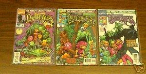 DAYDREAMERS 3 ISSUE COMIC LOT RUN SET (1997) #1 2 & 3