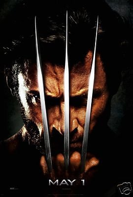 WOLVERINE ADVANCE PROMOTIONAL MOVIE POSTER FREE SHIPPING