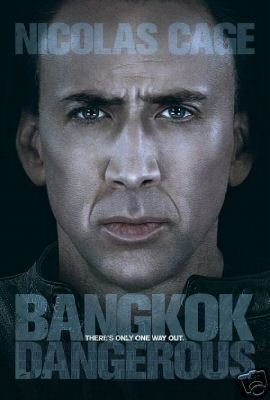 BANGKOK DANGEROUS MOVIE POSTER NICOLAS CAGE FREE SHIPPING