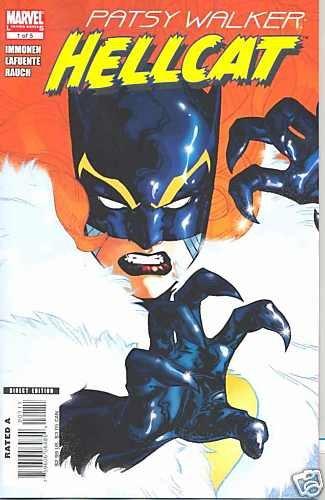 PATSY WALKER HELLCAT #1 near mint comics  (2008)