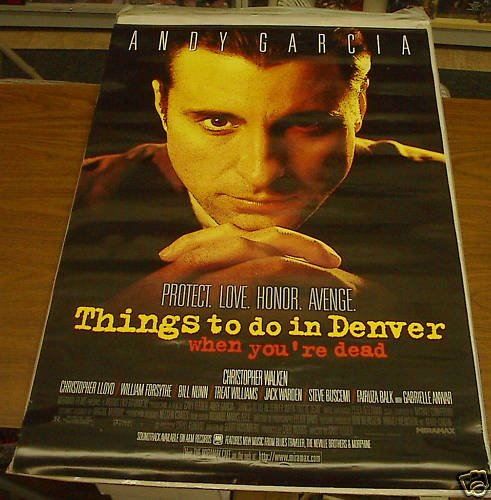 THINGS TO DO IN DENVER MOVIE POSTER 27 x 40 inches FREE SHIPPING