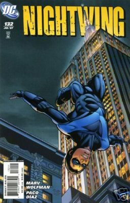 Nightwing #132 near mint comic (2007)