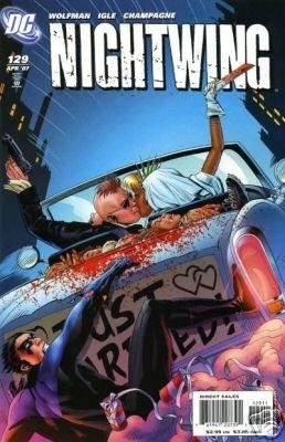 Nightwing #129 near mint comic (2007)