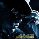 NOTORIOUS ADVANCE MOVIE POSTER FREE SHIPPING (2009)