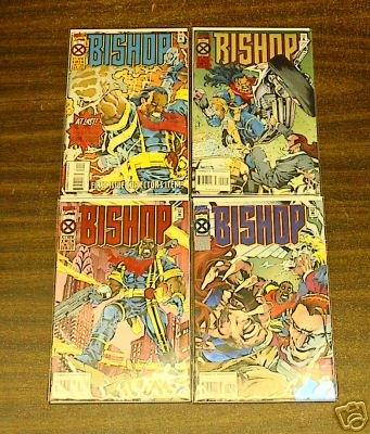 X-MEN BISHOP 4 COMIC LOT RUN #s 1 � 4 (1994) comicguy9