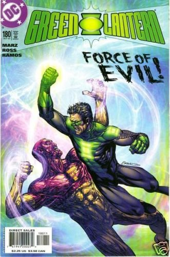 Green Lantern #180 near mint comic (2004)