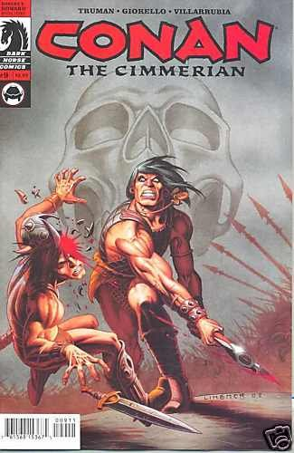 CONAN THE CIMMERIAN #9 near mint comic (2009) DARK HORSE