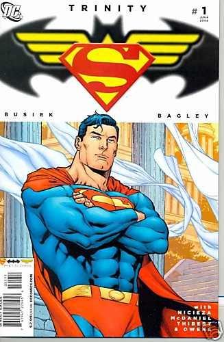 TRINITY #1 (2008) SUPERMAN BATMAN near mint comic