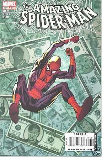 AMAZING SPIDERMAN SPIDER-MAN #580 near mint comic (2009)