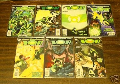 DC ION 7 COMIC LOT RUN #s 1 � 7 from 2006 1 2 3 4 5 6 7