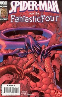 Spiderman and The Fantastic Four #4 of 4 near mint comic