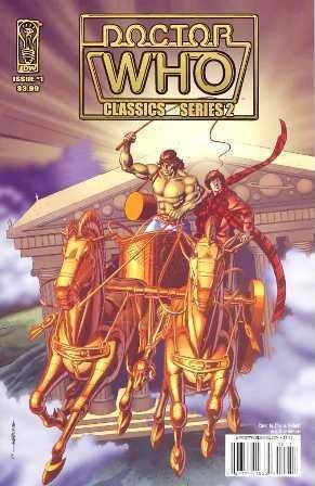 DOCTOR WHO CLASSICS SERIES 2 #1 near mint comic (2008)