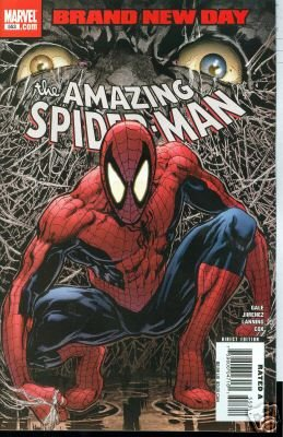 AMAZING SPIDERMAN SPIDER-MAN #553 BRAND NEW DAY near mint comic
