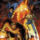 FANTASTIC FOUR art by ART ADAMS POSTER 24 x 36 inches BRAND NEW CONDITION