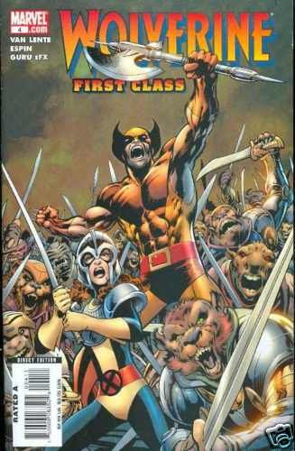 WOLVERINE FIRST CLASS #4 near mint comic (2008)