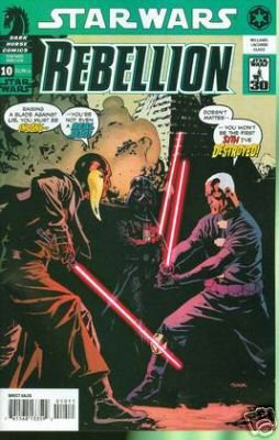 Star Wars Rebellion #10 near mint comic (2007)