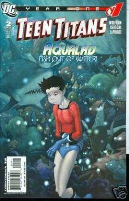 TEEN TITANS YEAR ONE #2 of 6 near mint comic